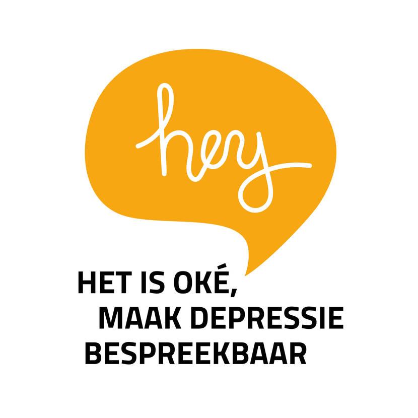 'Hey! Het is oké, maak depressie bespreekbaar!