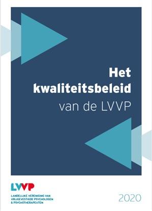 Nieuwe vormgeving voor brochure kwaliteitsbeleid LVVP